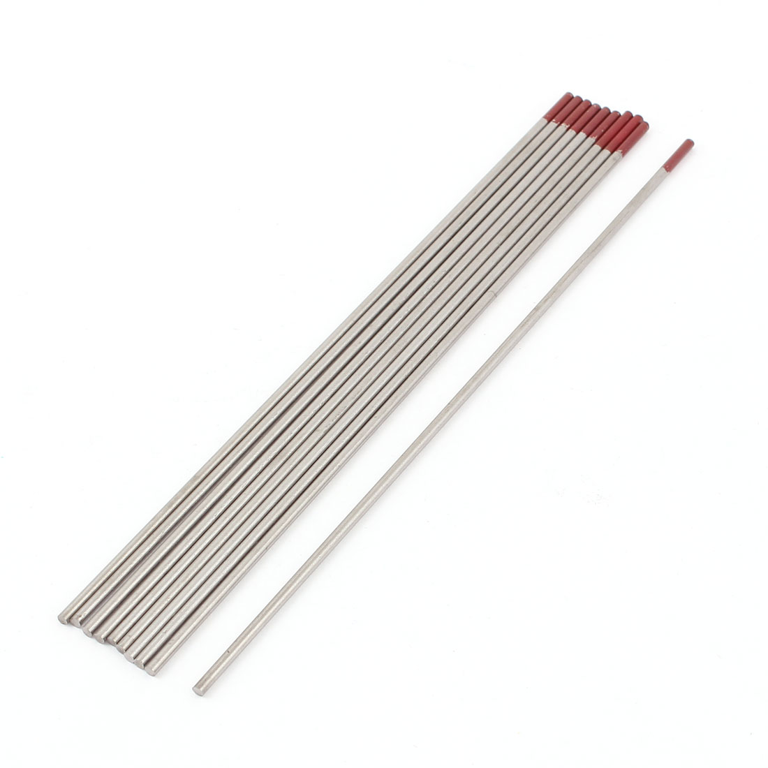 "10 Pcs TIG Welder 2% Thoriated Tungsten Electrodes WT20 2/25"" x 6"""