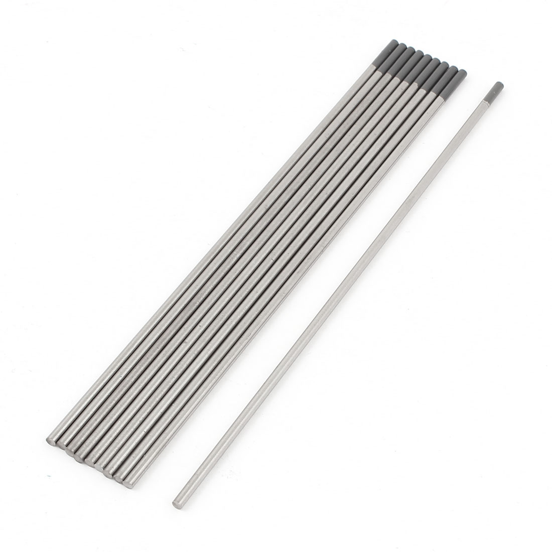 "10 Pcs TIG Welder 2% Ceriated Tungsten Electrodes WC20 3/32"" x 6"""