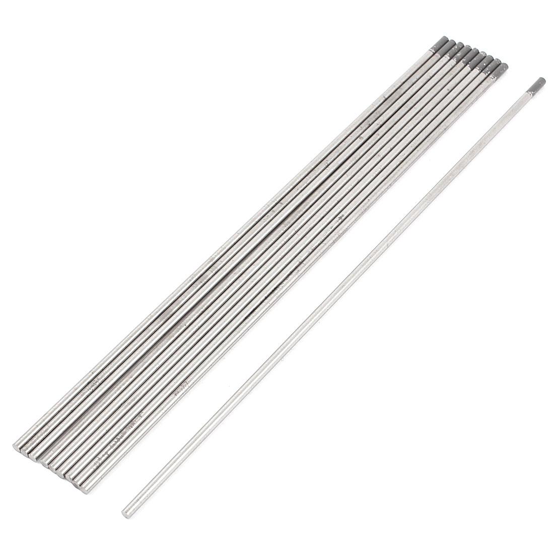 "10 Pcs TIG Welding 2% Ceriated Tungsten Electrodes WC20 3/32"" x 7"""