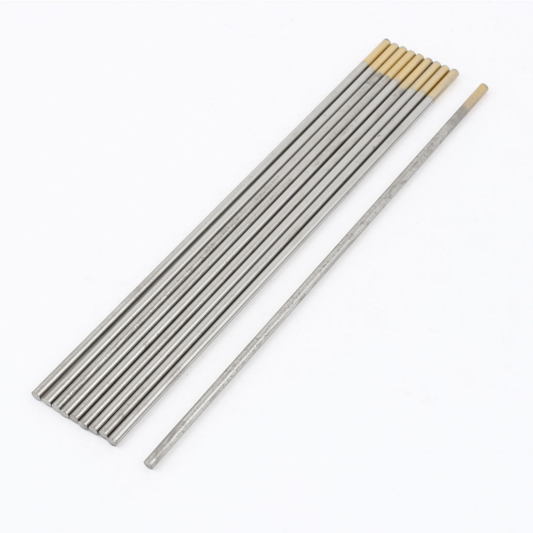 "10 Pcs TIG Welding 1.5% Lanthanated Tungsten Electrodes 1/8"" x 7"""