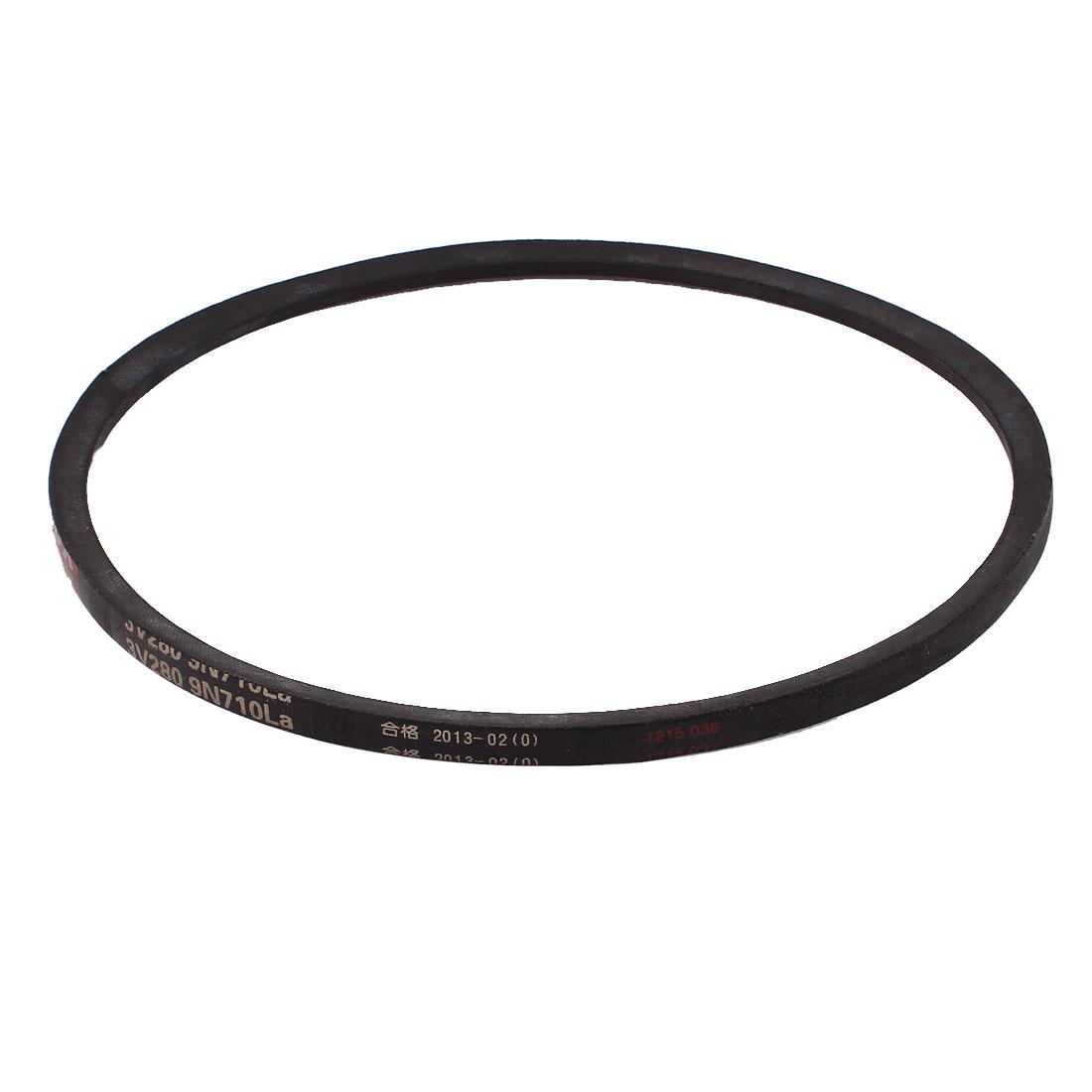 210mm Inner Dia. Mechanical Transmission Rubber 3V280-710 Oilproof Narrow V Belt
