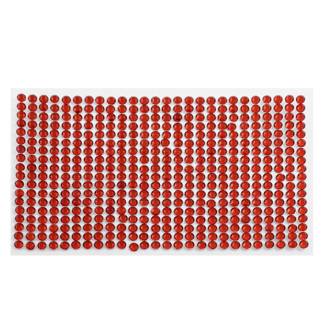 Red 5mm Round Self Adhesive Bling Crystal Rhinestone Decorating Stickers