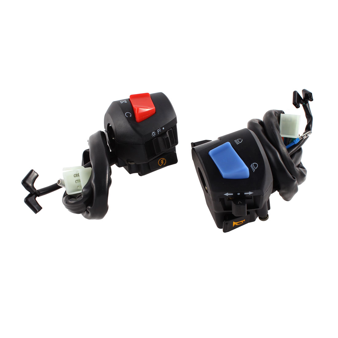 2 in 1 Turn Signal Light Combination Switch Controller for Motorcycle FXD