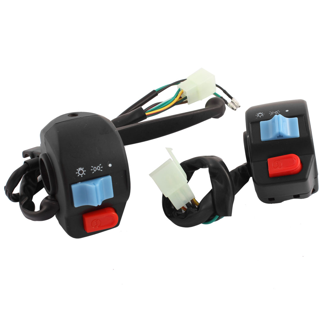 Motorbike Left Right Handlebar Starting Switch Controller Pair for GY6-125