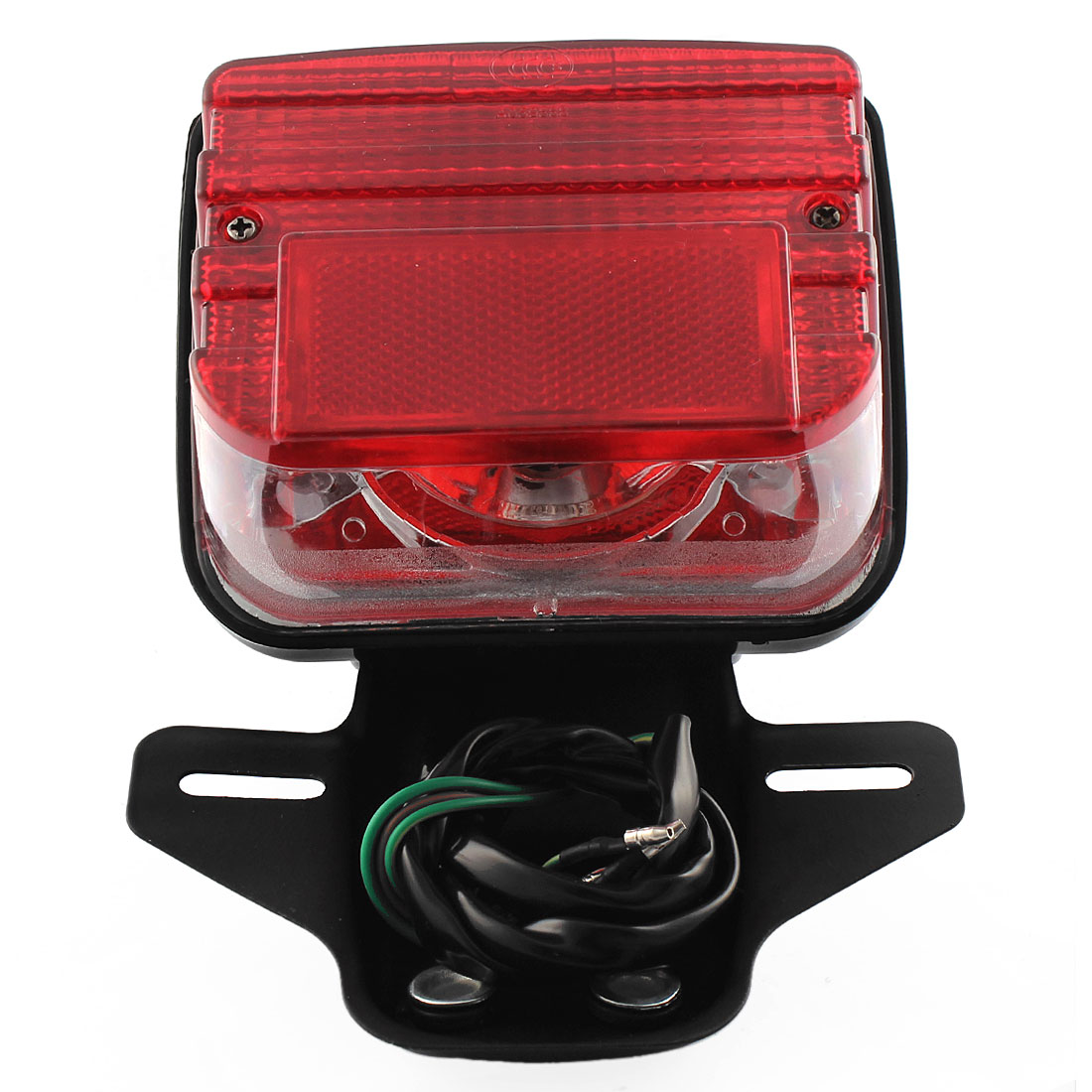 Motorcycle DirtBike Snowmobile Tail Light Red Bulb Brake Running Lights for CG-125