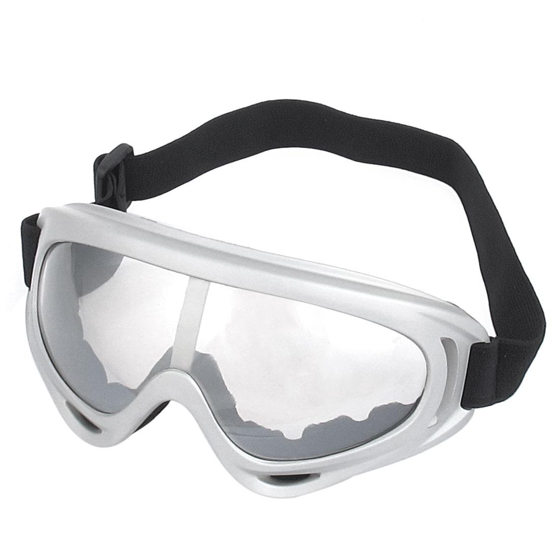 Motorcycle Biker Adjustable Elastic Strap Dustproof Windproof Goggles Sunglasses