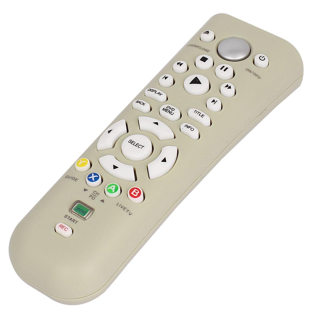 Wireless Microsoft Multimedia Media DVD Remote Control for Xbox 360