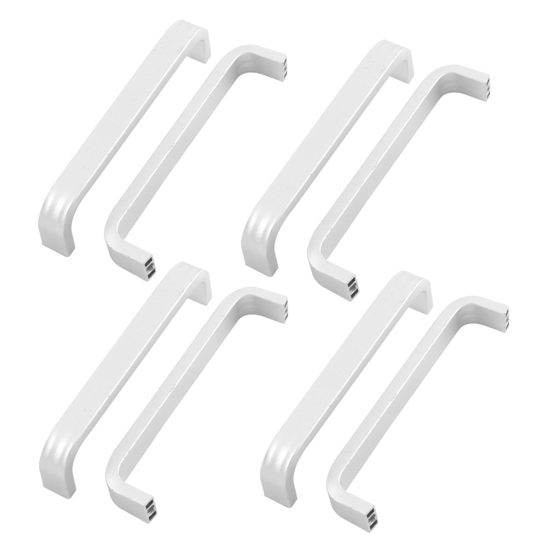 8pcs Cabinet Drawer Cupboard Door Pull Handles Grip 96mm Length