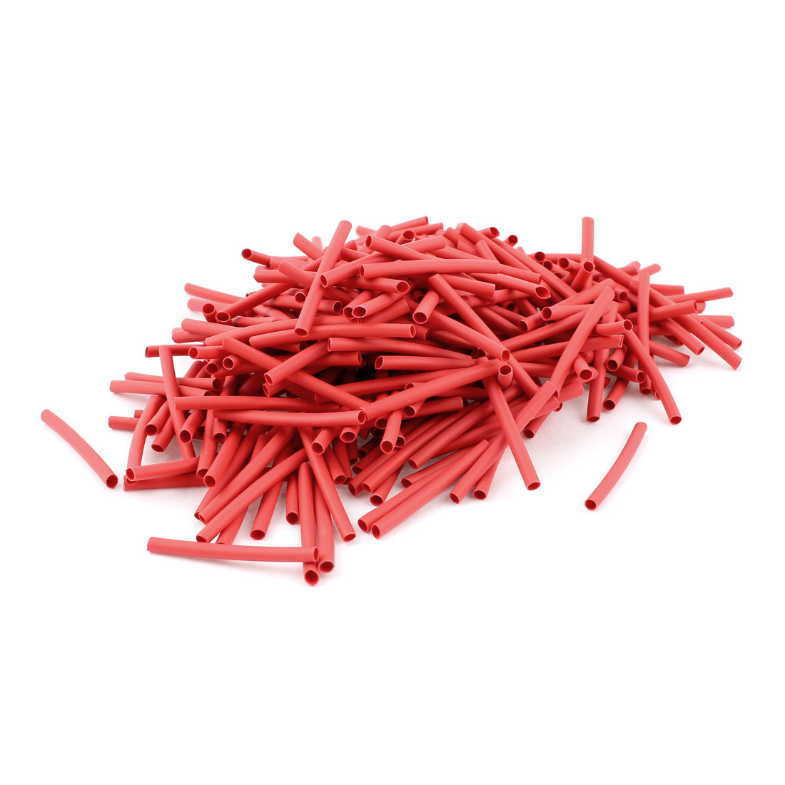 Red 1.5mm Dia 2:1 Polyolefin Heat Shrink Tubing Shrinkable Tube 30mm 300pcs