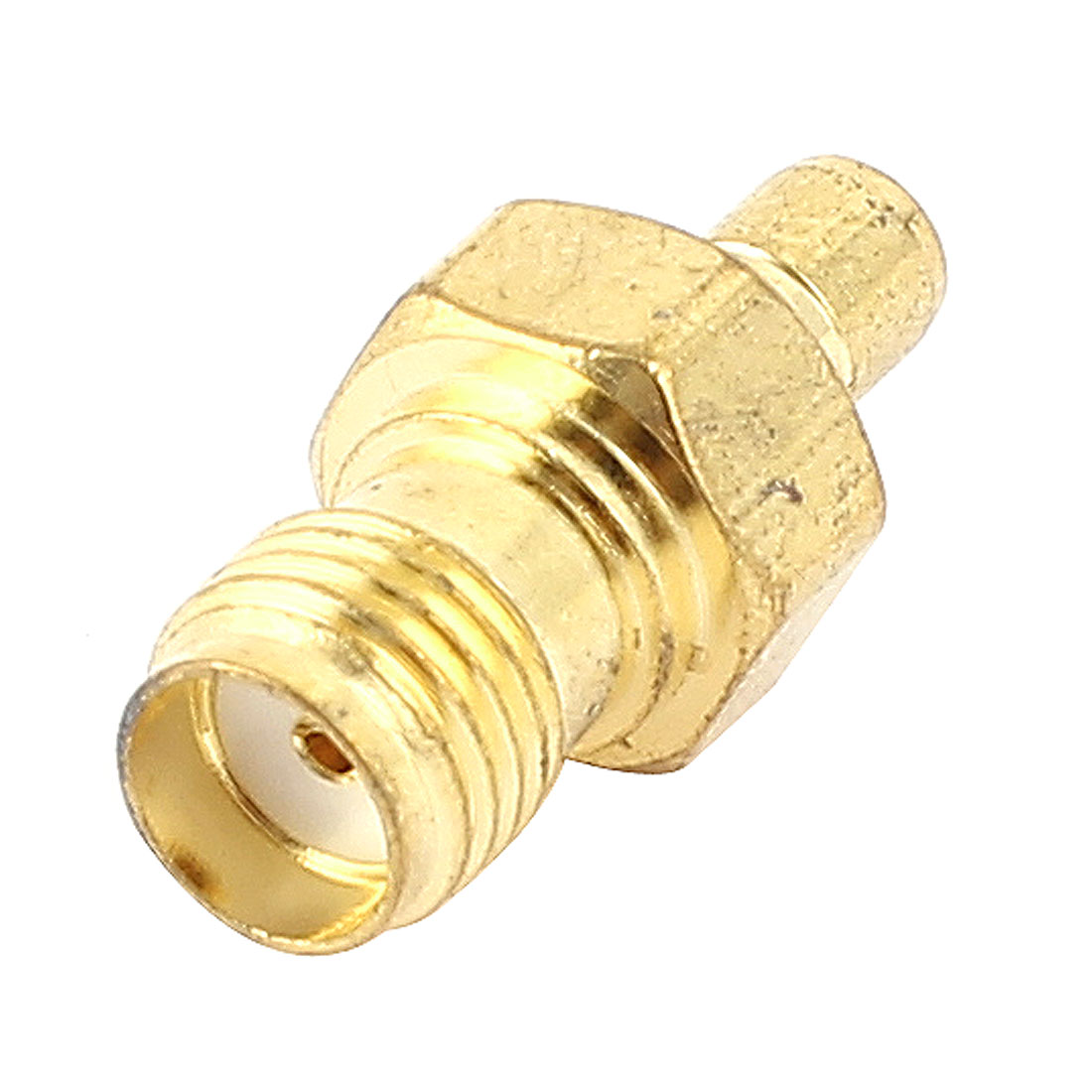 Gold Plated SMA Female to SMB Male Jack Coaxial RF Connector Adapter