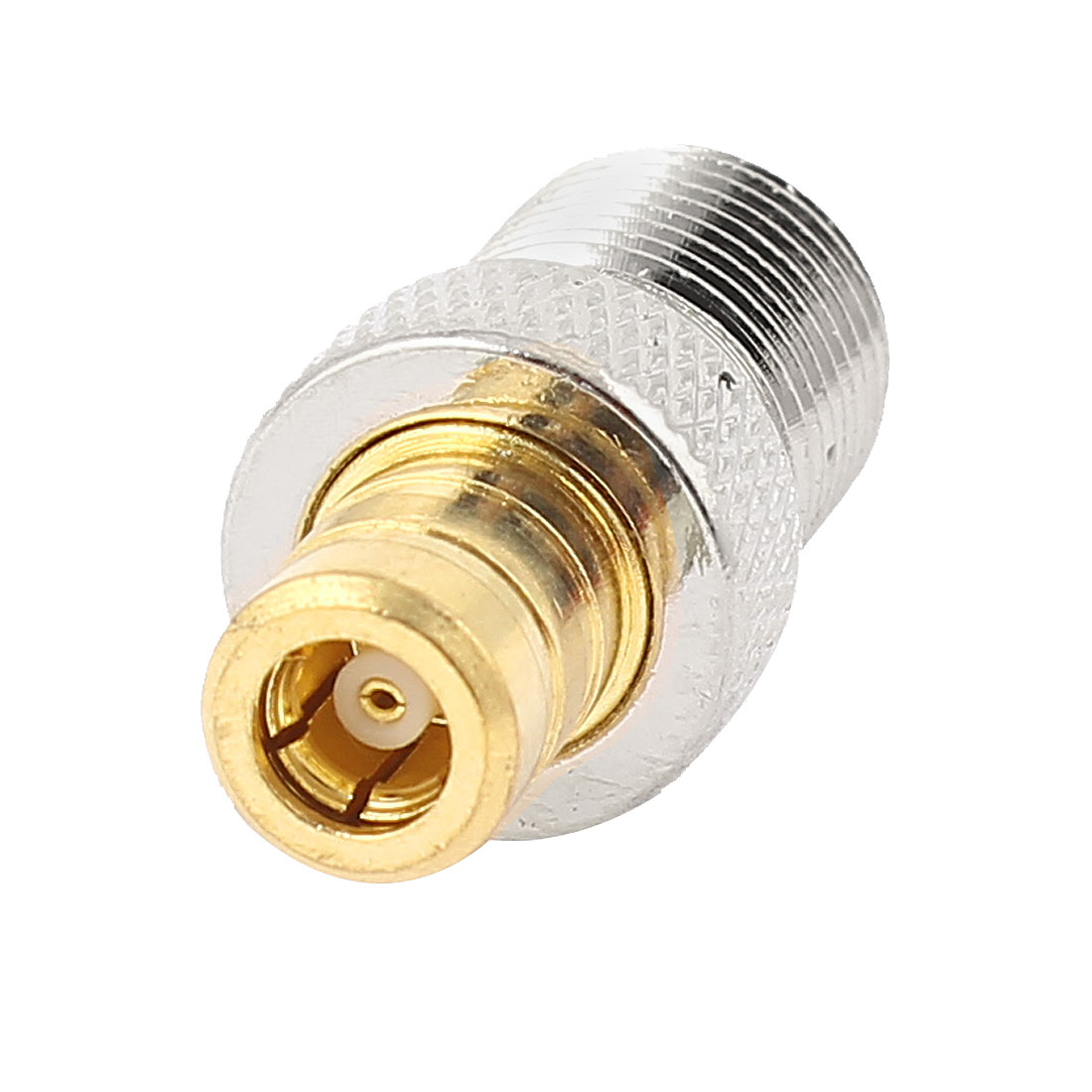 F Type Female to SMB Female Coaxial RF Connector Adapter