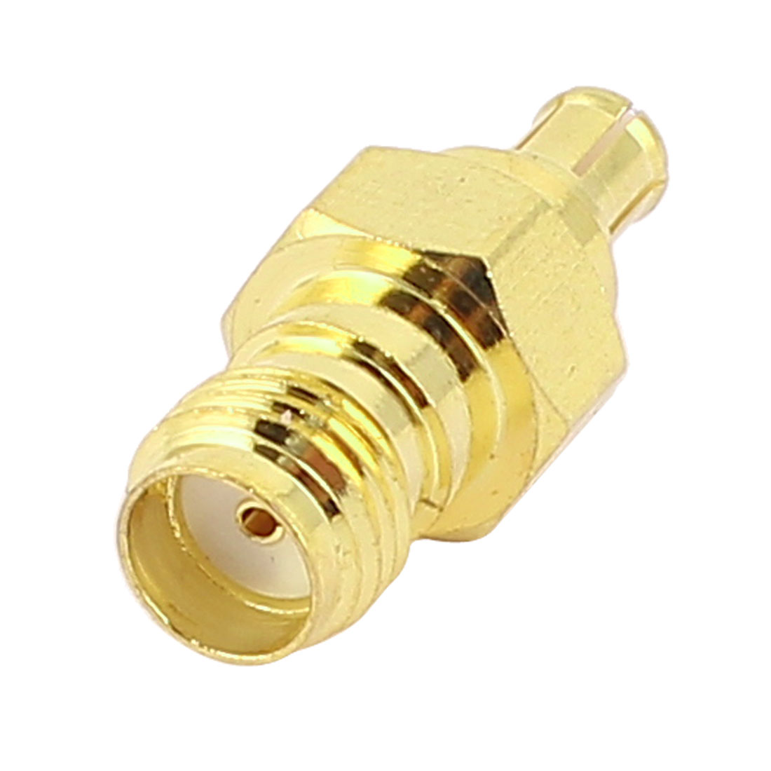 Gold Plated SMA Female to MCX Male Jack Coaxial RF Adapter Connector