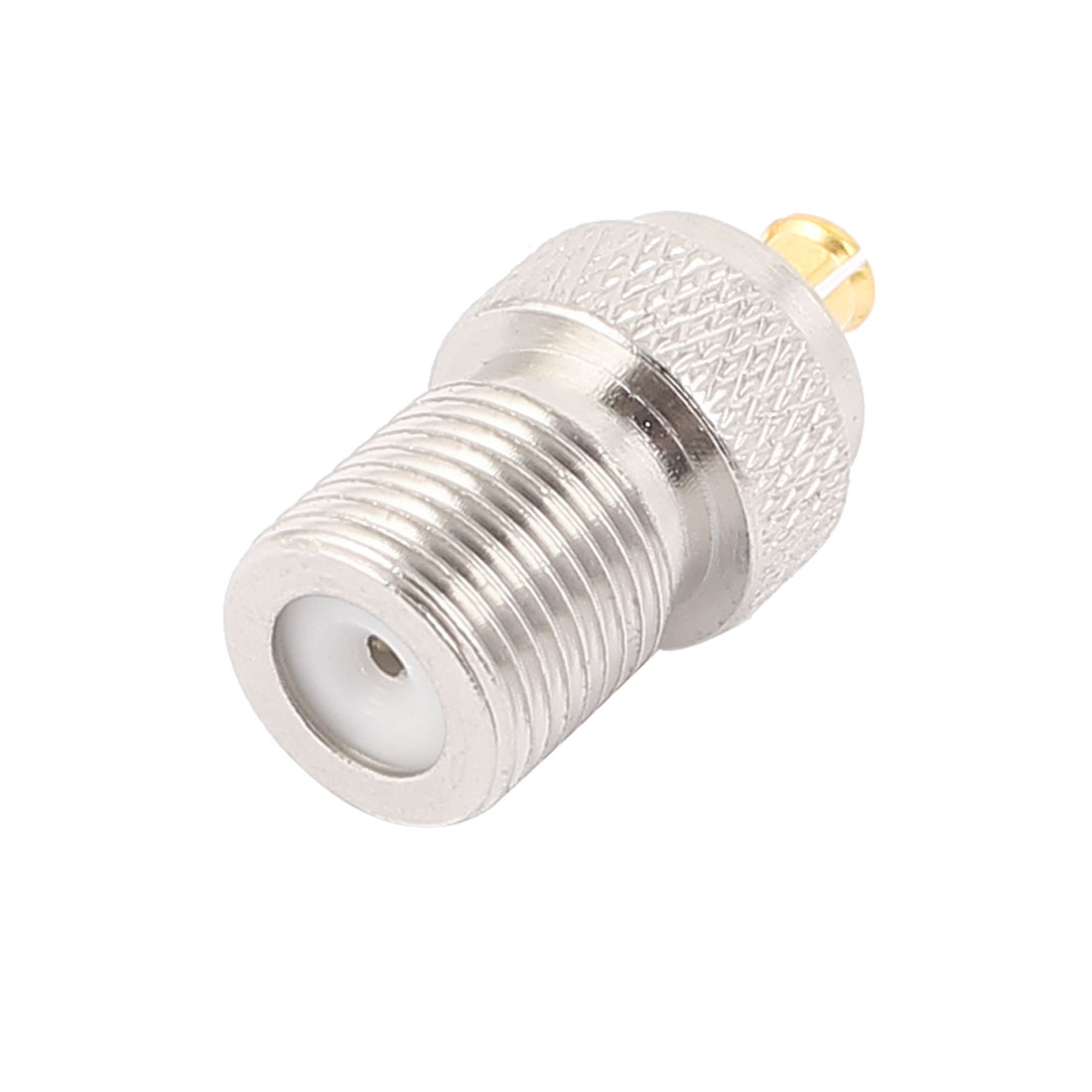 F Type Female Jack to MCX Male RF Coaxial RF Adapter Connector