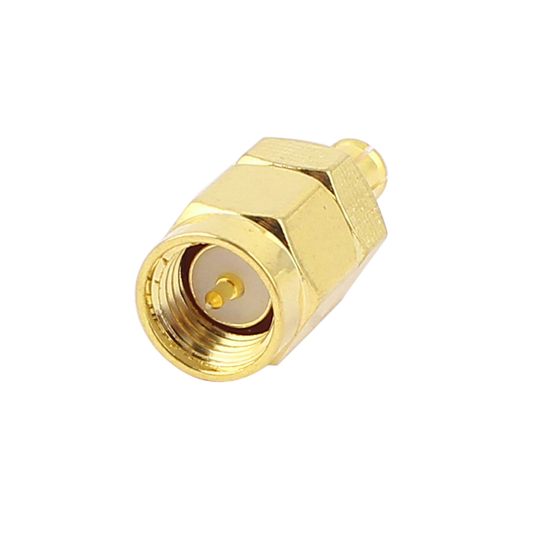 SMA Male to MCX Male Jack Straight Coaxial RF Connector Adapter
