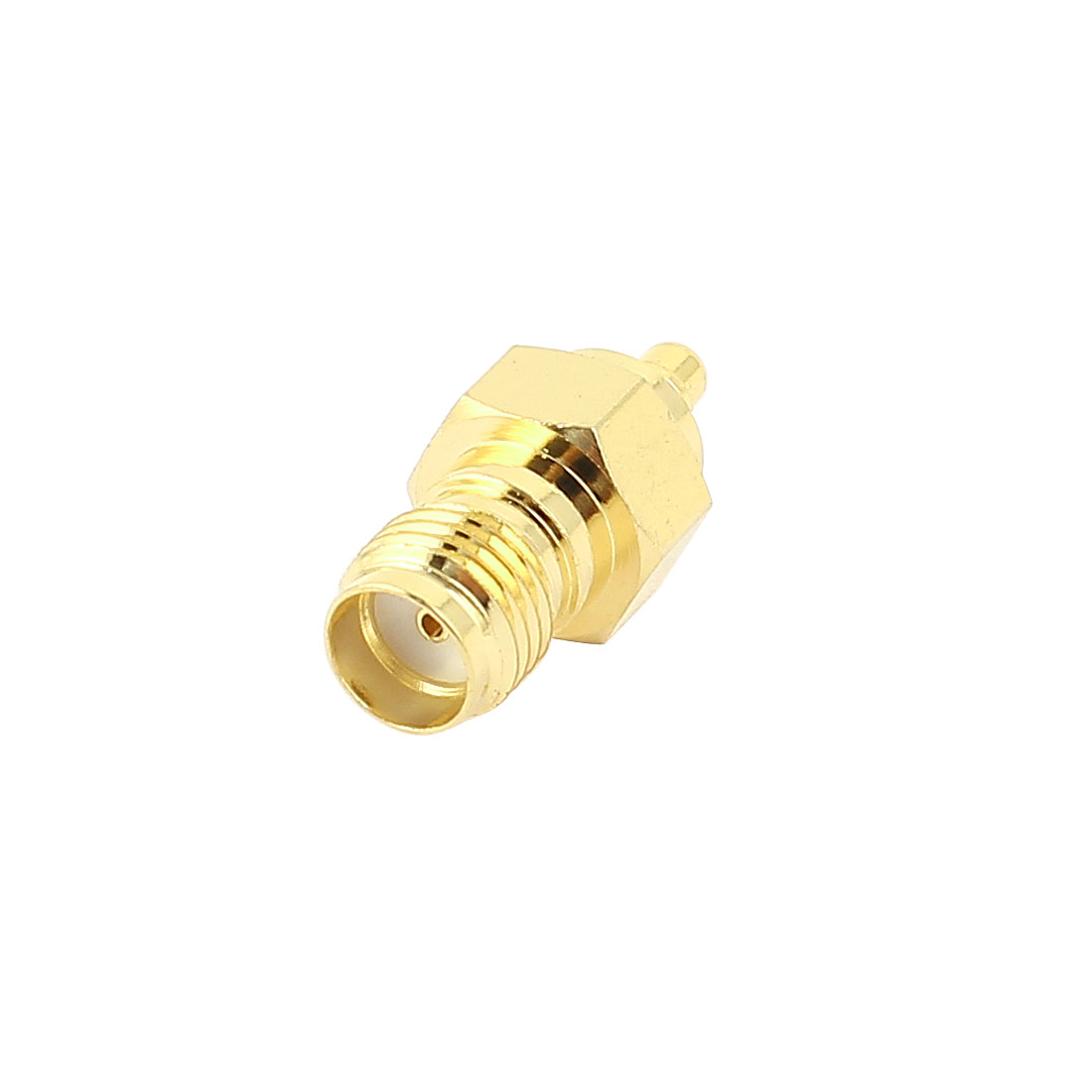 SMA Female Jack to MMCX Male Straight RF Coaxial Adapter Connector