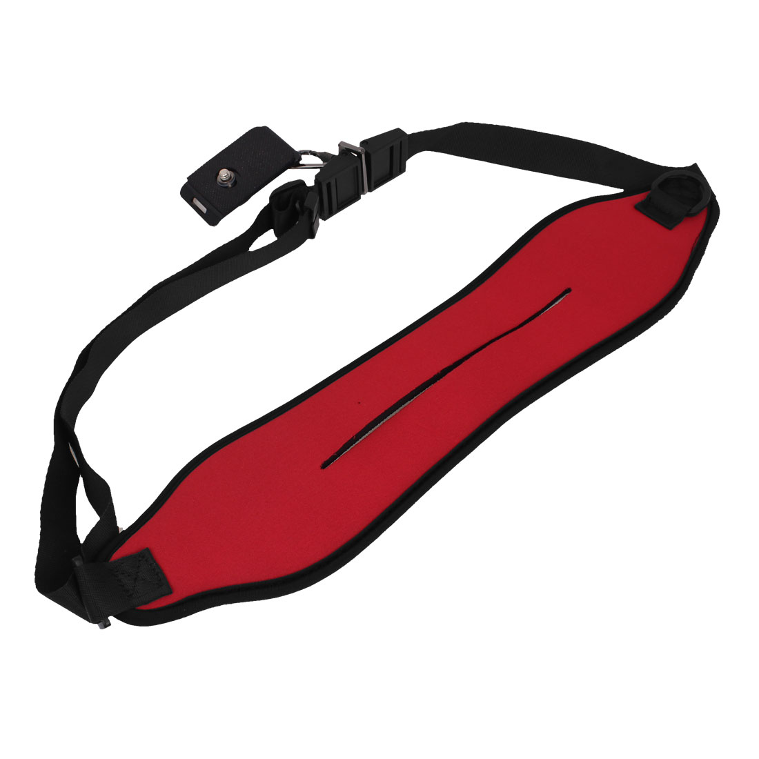 Red Adjustable Single Shoulder Neck Strap Belt for SLR Digital DSLR Camera