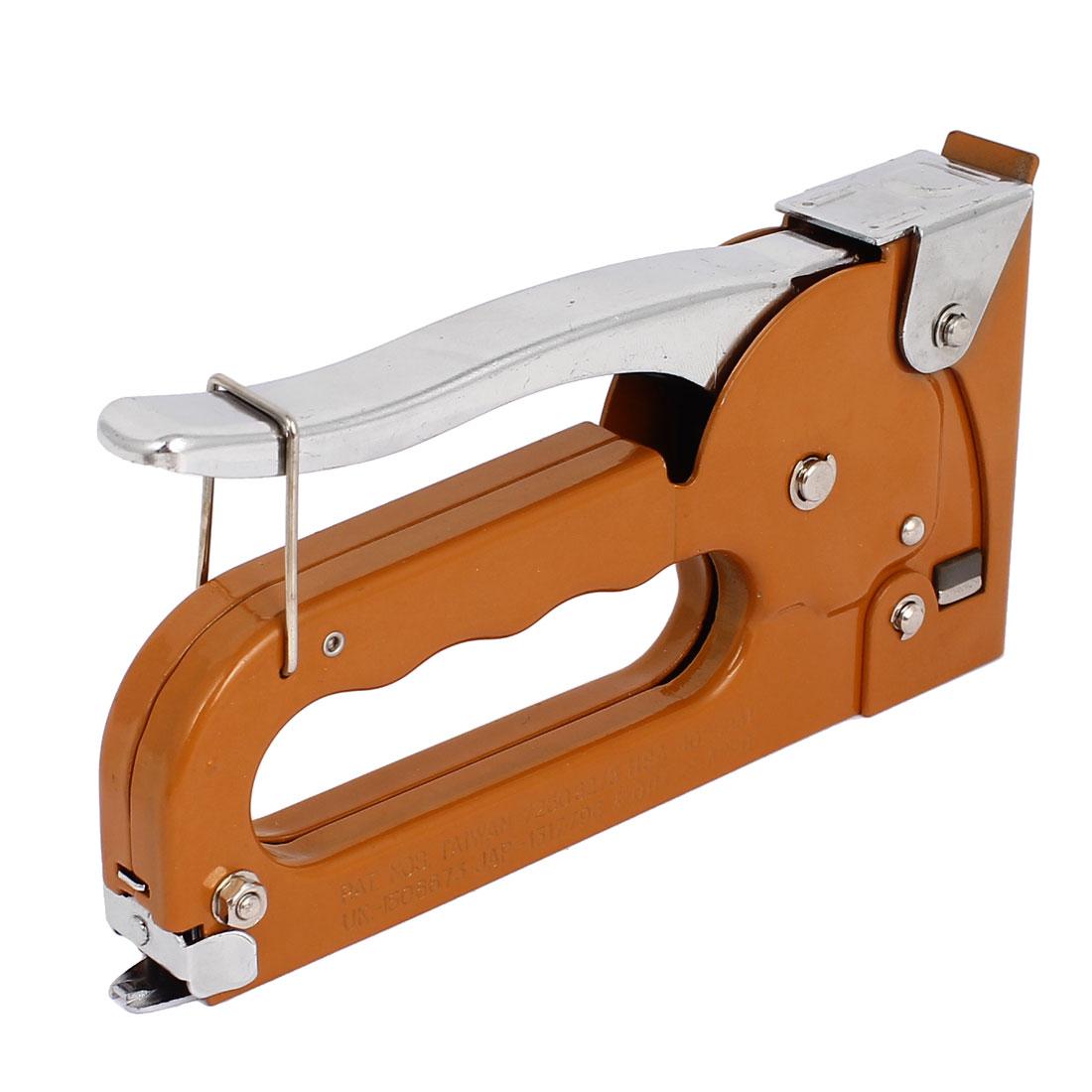 Home Office Multi Purpose Staple Gun Tacker Stapler Tool w Standard Staples