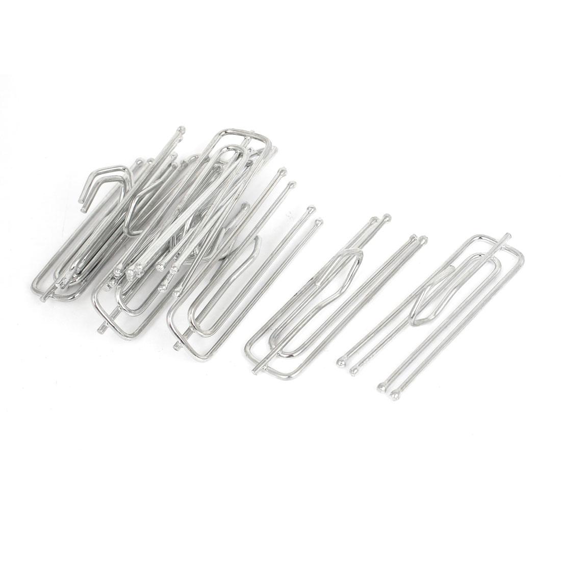 Window Treatment Metal 4 Pinch Pleat Drapes Curtain Hooks 7cm Long 10pcs