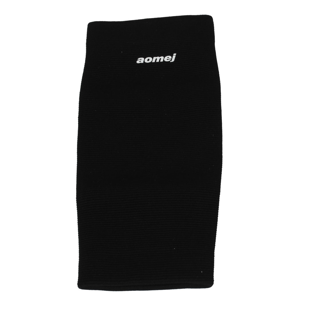 Unisex Sports Running Compression Sleeve Socks Elastic Calf Shin Support Black