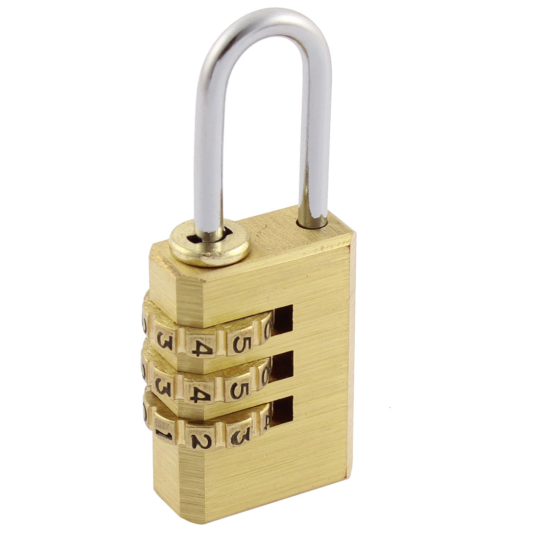 20mm Jewelry Boxes 3 Digit 0-9 Number Resettable Combination Lock Padlock