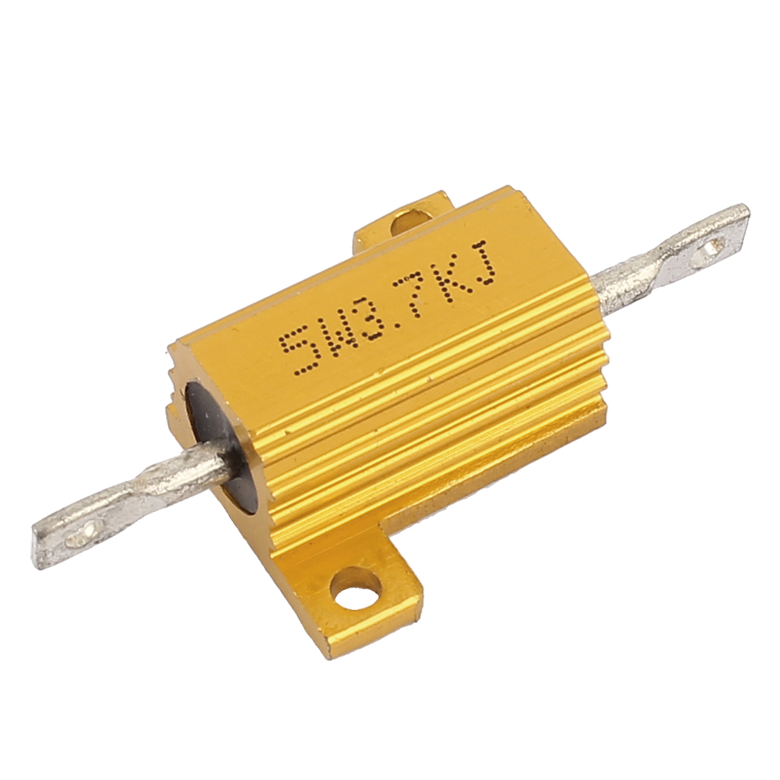 Aluminium Housing Chassis Mount Wirewound Power Resistors 3.7K Ohm 5W