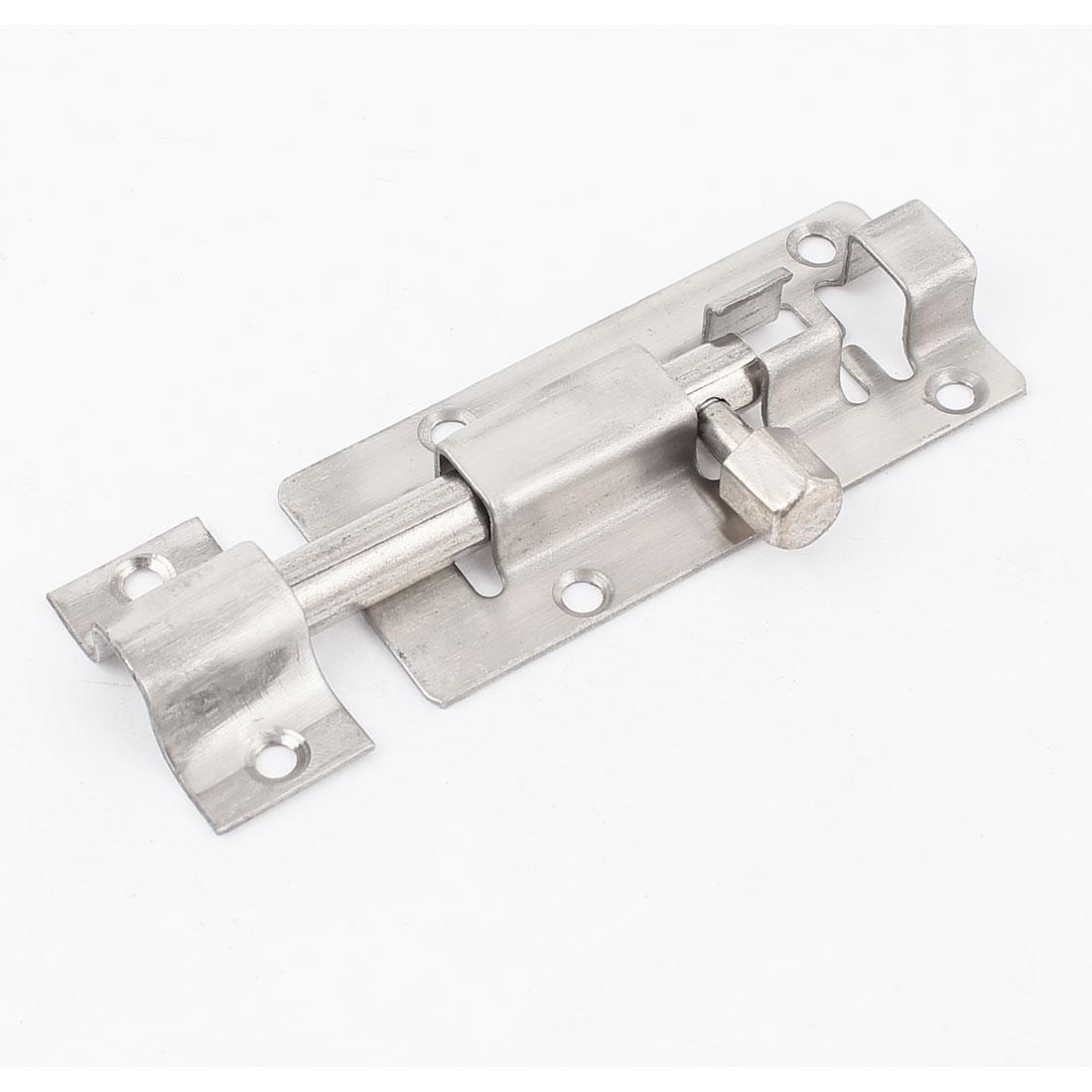 "3"" Long Stainless Steel Door Gates Security Latch Slide Lock Barrel Bolt"
