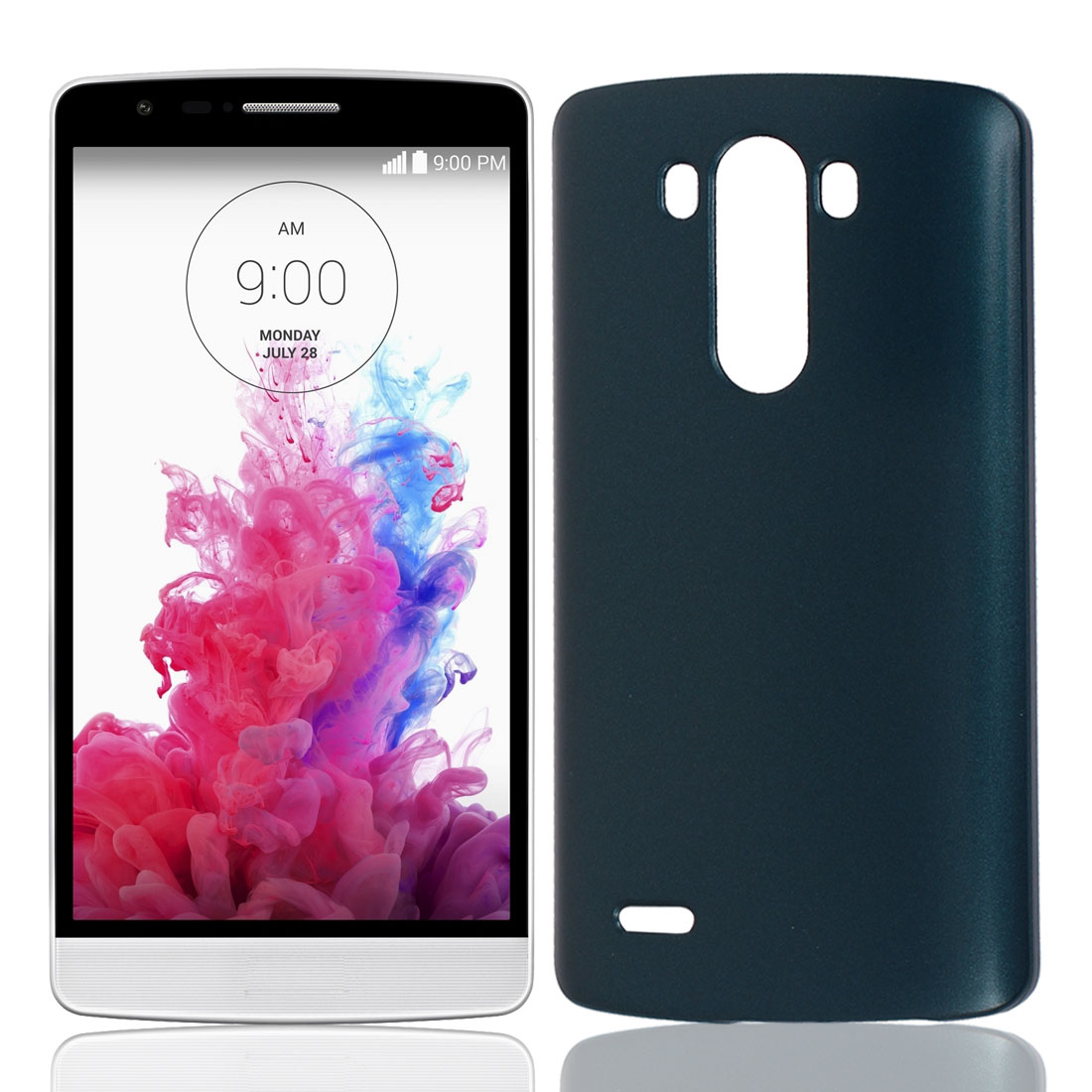 Green Hard Plastic Dust Proof Case Cover Phone Protective Shell Guard Skin for LG G3