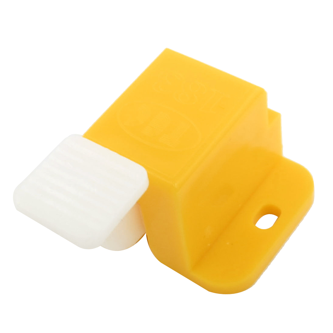 Yellow White Plastic Prototype Test Fixture Jig Edge Latch Set for PCB Board