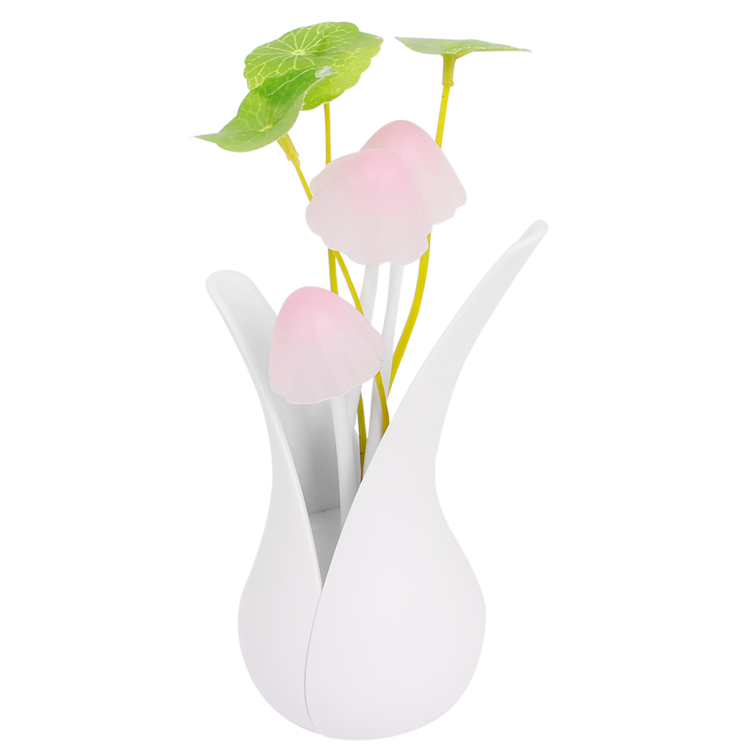 AC 110-220V US Charger Flower Vase Design LED Dream Night Light Lamp