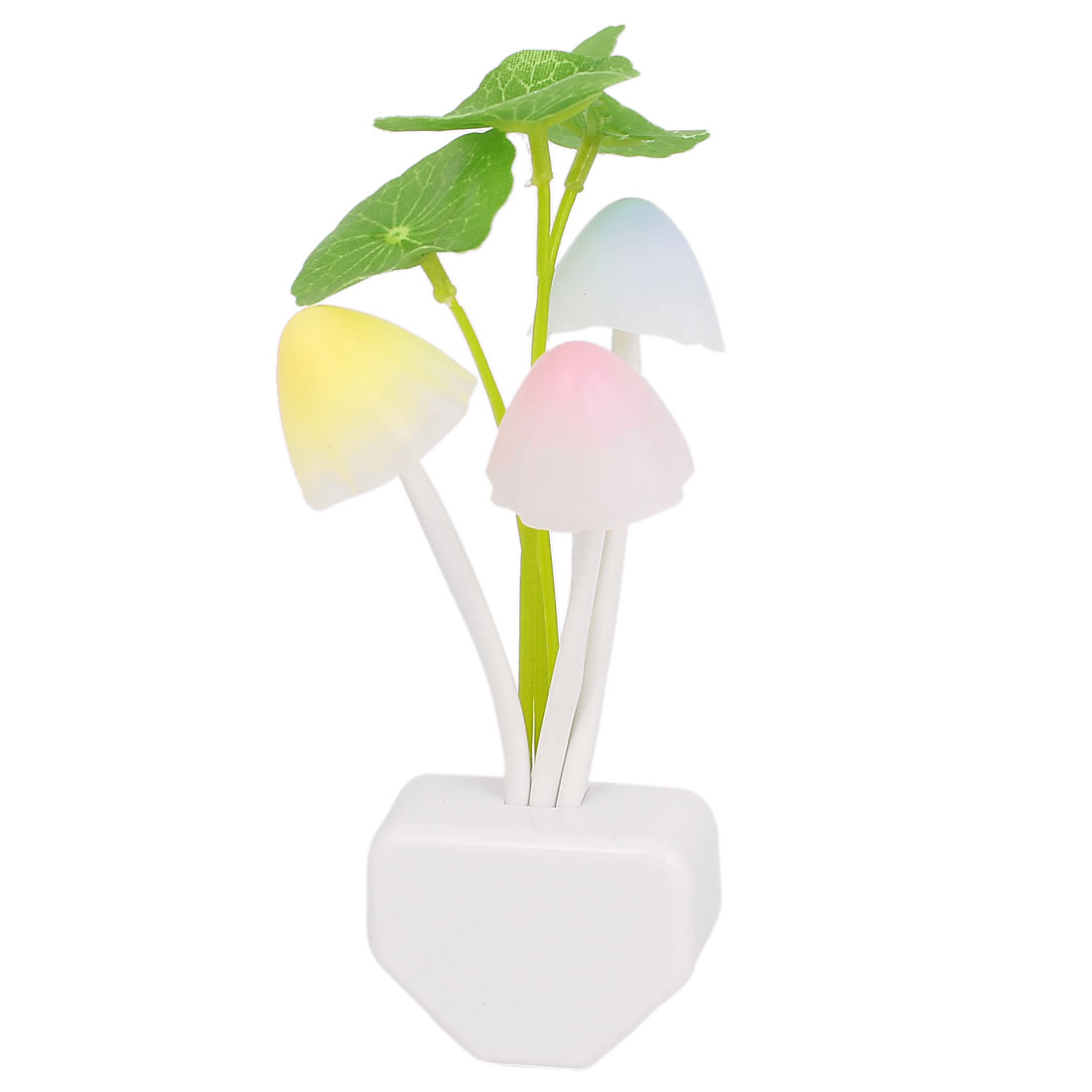 US Plug AC 110-220V Mushroom LED Dream Night Light Colorful