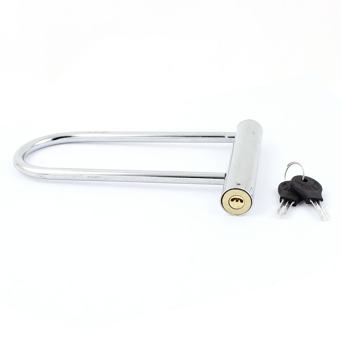 Metal Security U Shape Motorcycle Bicycle Lock Anti-Thief Tool