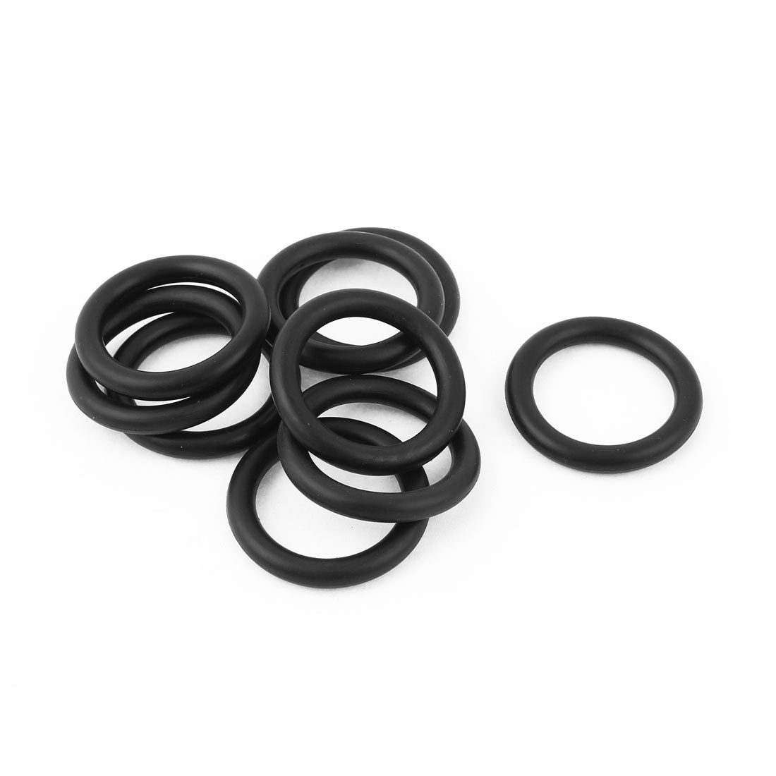 10pcs Rubber Oil Drain Shift Shaft Filter Seal Ring Black