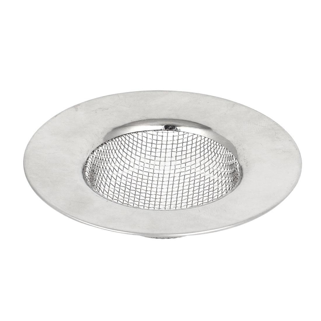 Stainless Steel Kitchen Bathroom Water Sink Strainer Basin Drainer