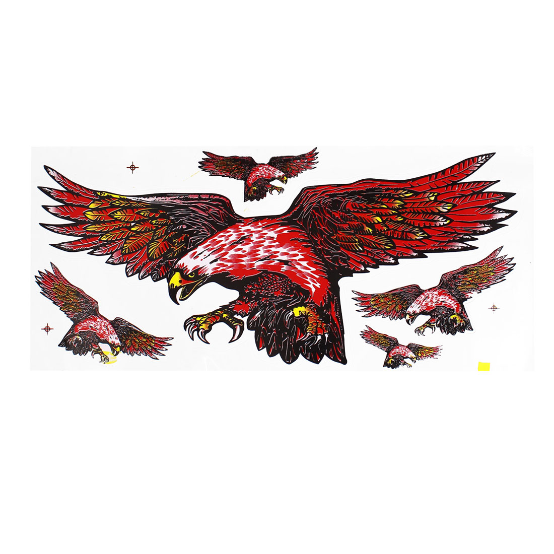 Eagle Bird Design Window Decal Motocycle Bike Sticker