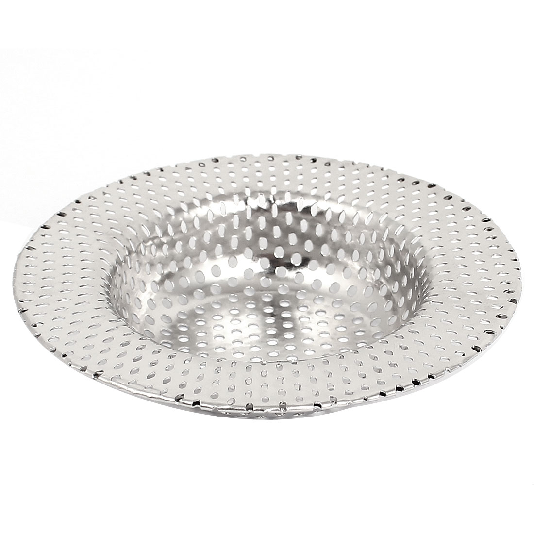 Kitchen Bathroom Metal Mesh Hole Design Sink Strainer Basket Drain Net Protector