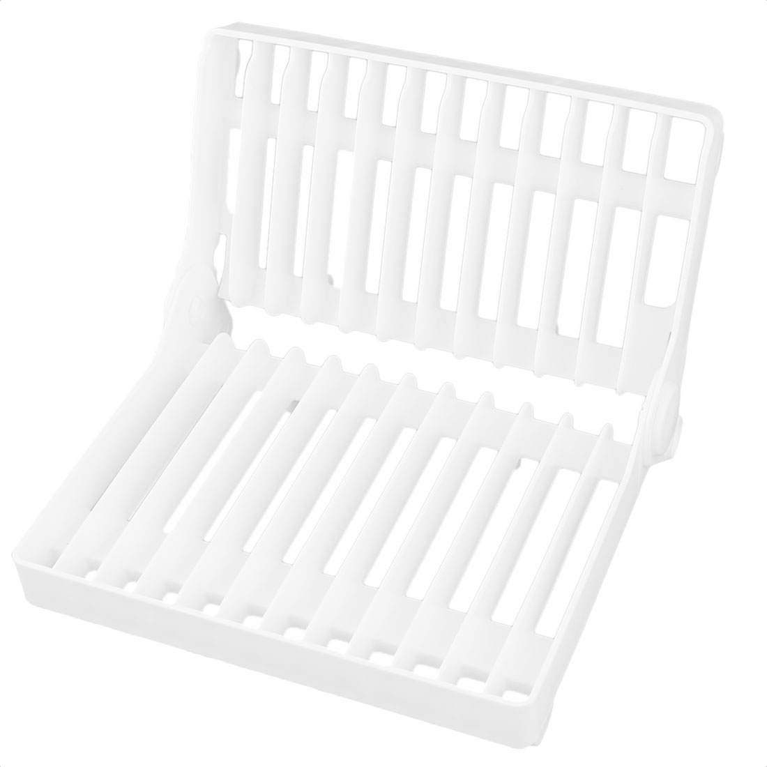 Kitchen Dish Cup Drying Floding Rack Drainer Dryer Tray Cutlery Holder Organizer Storage