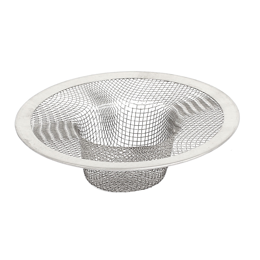 Bathroom Metal Mesh Hole Design Sink Strainer Basket Drain Bathtub Net Stoper Protector