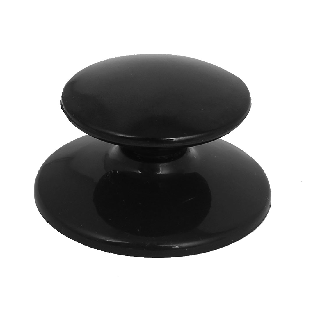 Kitchen Pot Pan Black Plastic Round Lid Handle Knobs Cookware Parts Cover Hand Grip