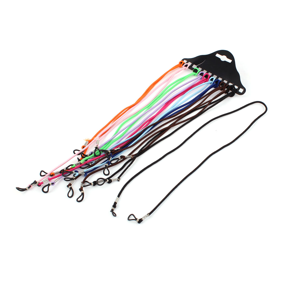 Sunglass Eyewear Nylon Neck Cord Glasses Spectacle Retainer Strap String Lanyard Holder 11pcs Assorted Color
