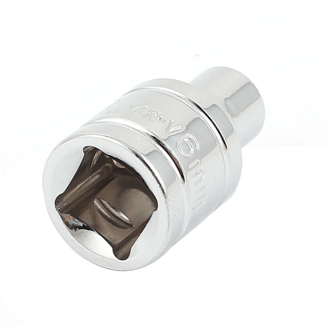 "3/8"" Drive Chrome-vanadium Steel Metric 6 Point Axle Nut Hex Socket 6mm"