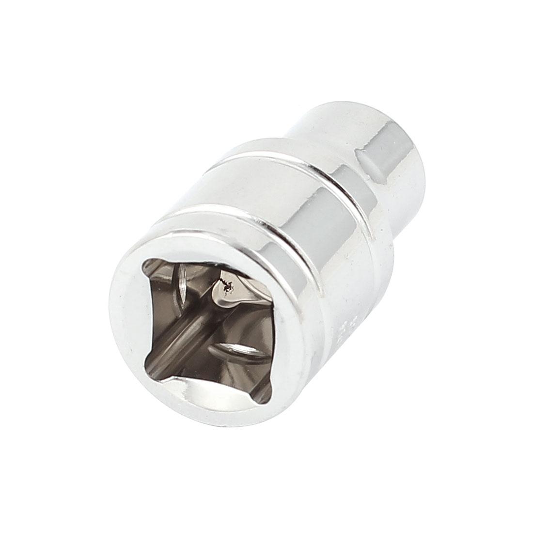 "3/8"" Drive Chrome-vanadium Steel Metric 6 Point Axle Nut Hex Socket 8mm"