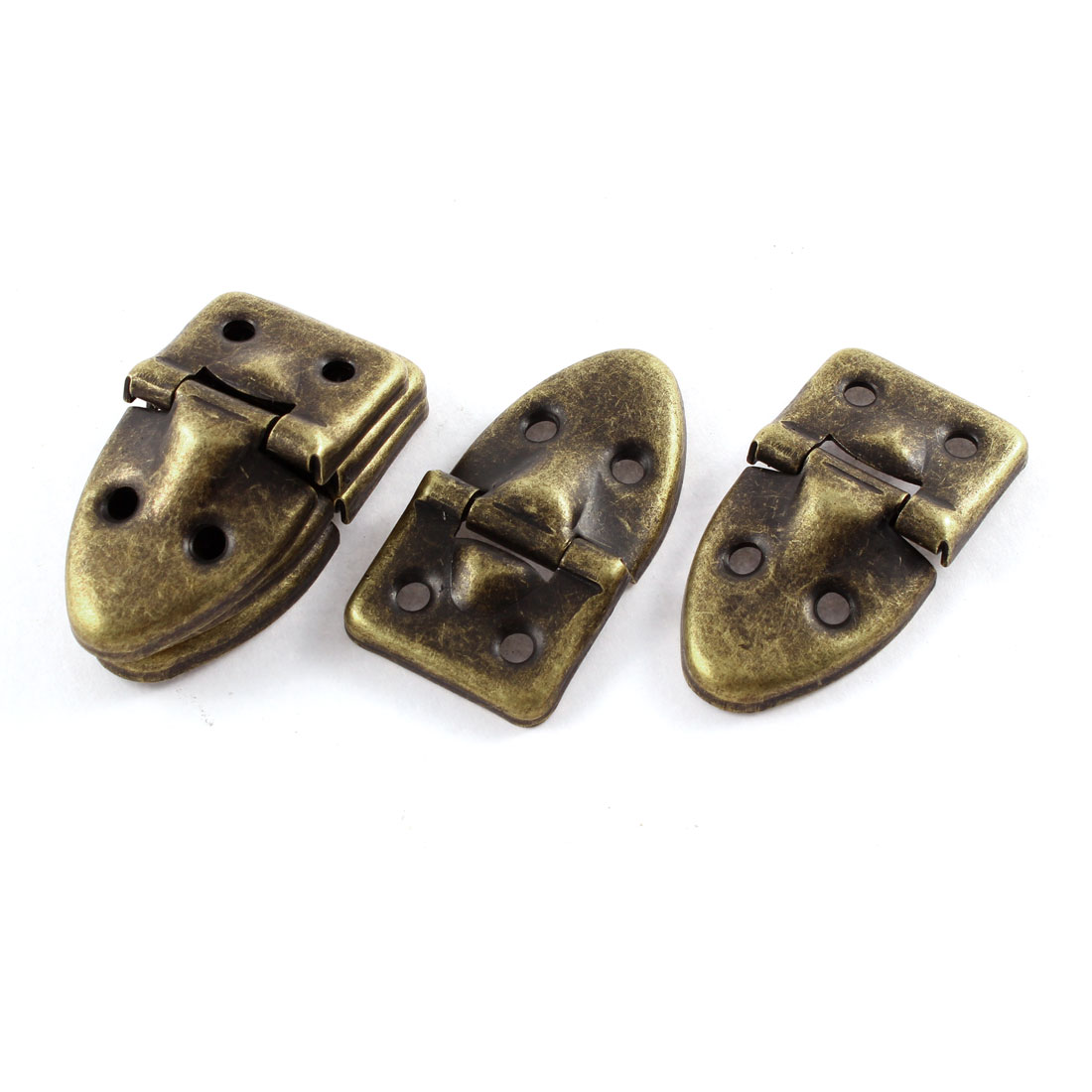 5pcs 53mmx29mm Vintage Style Iron Case Box Hasp Lock Latch Bronze Tone