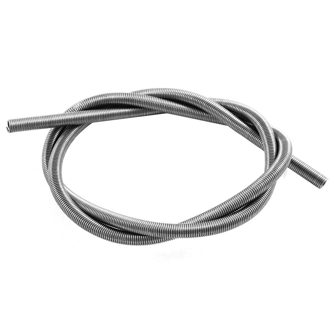 AC 220V 1500W Metal Heating Element Coil 57cm Long Silver Tone