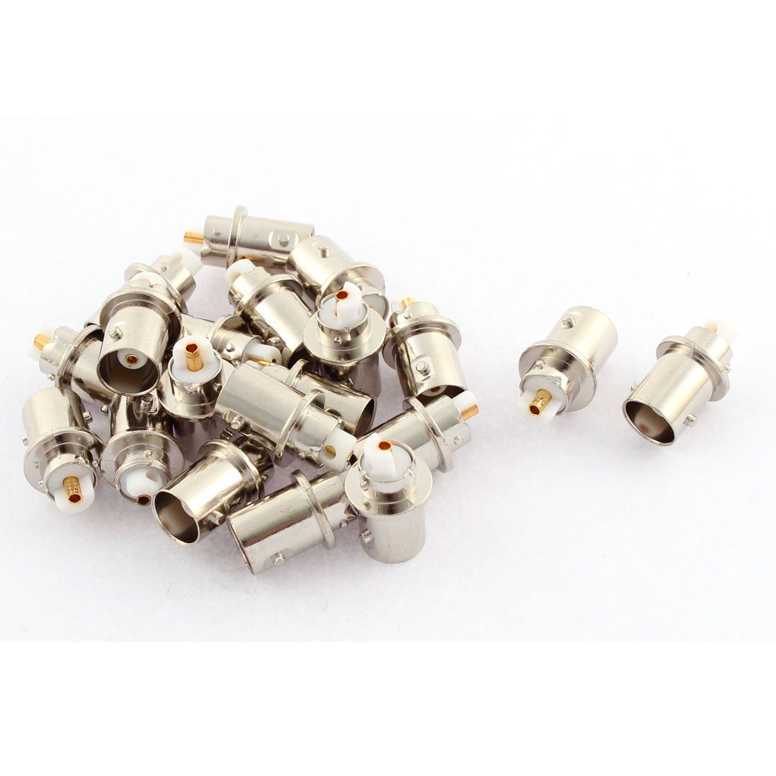20 Pcs BNC Female Jack to Female Jack Adapter Connector Converter