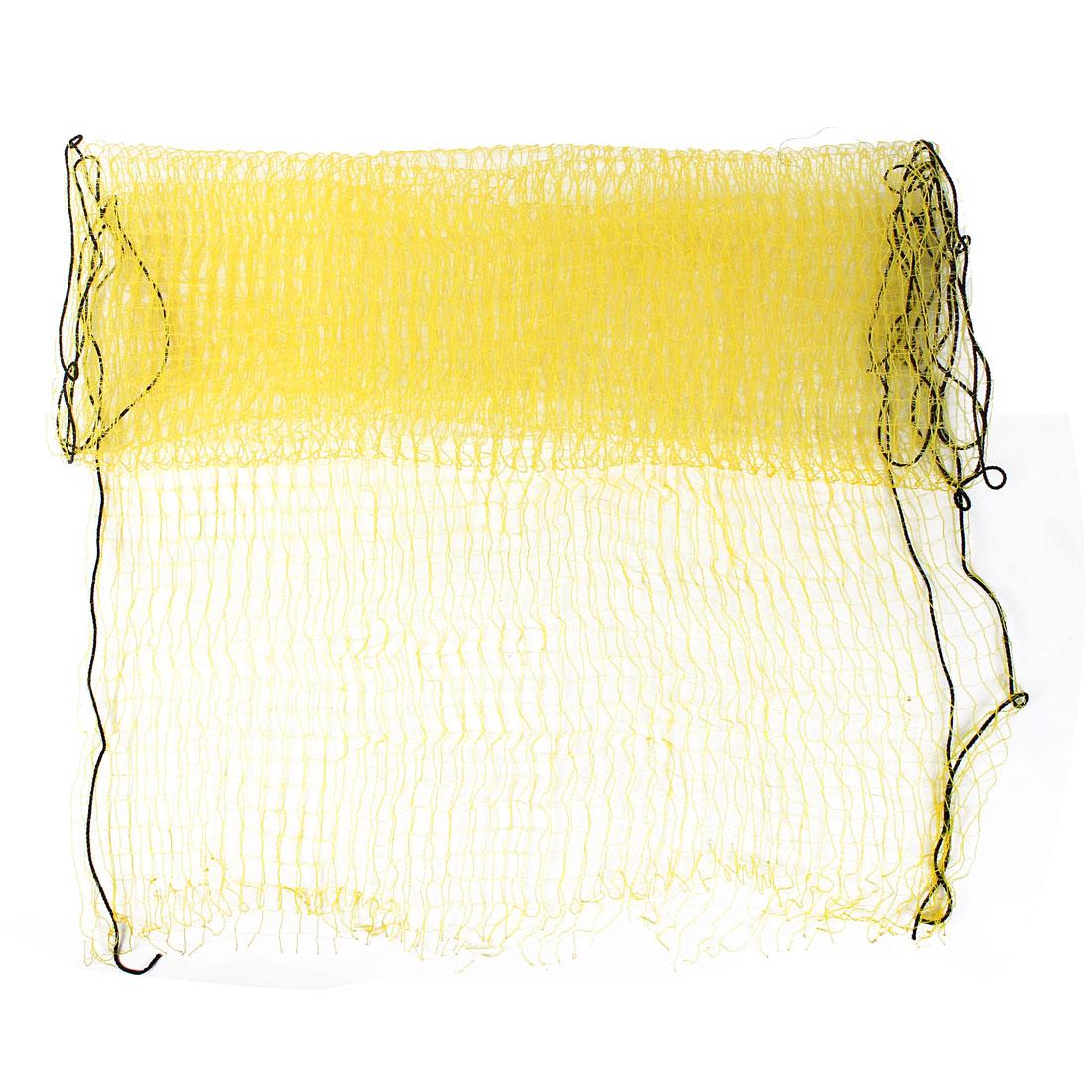 1.5m x 2m Yellow Nylon Hanging Gardening Climbing Plant Support Nets
