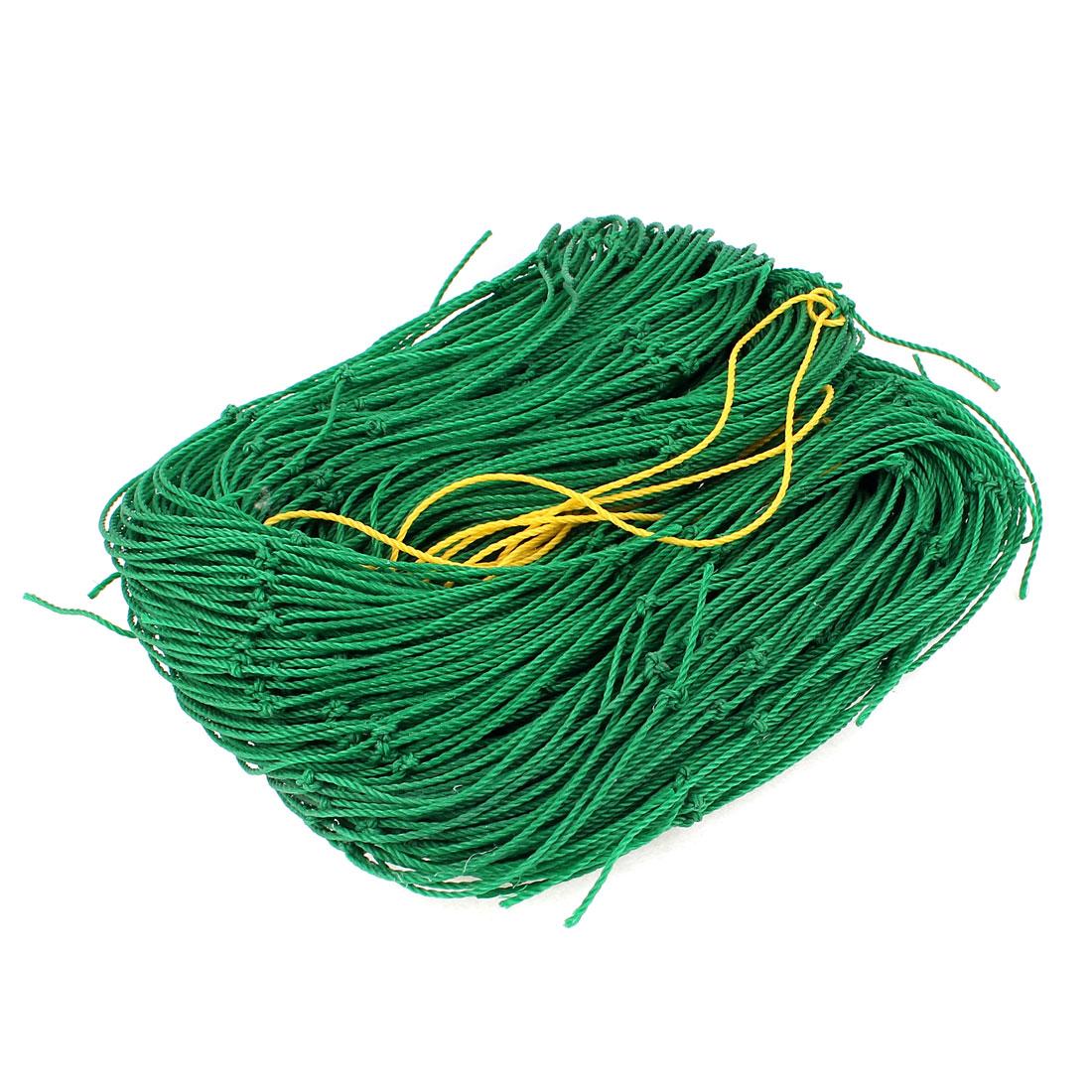1.8m x 3.6m Green Nylon Hanging Gardening Climbing Plant Support Nets