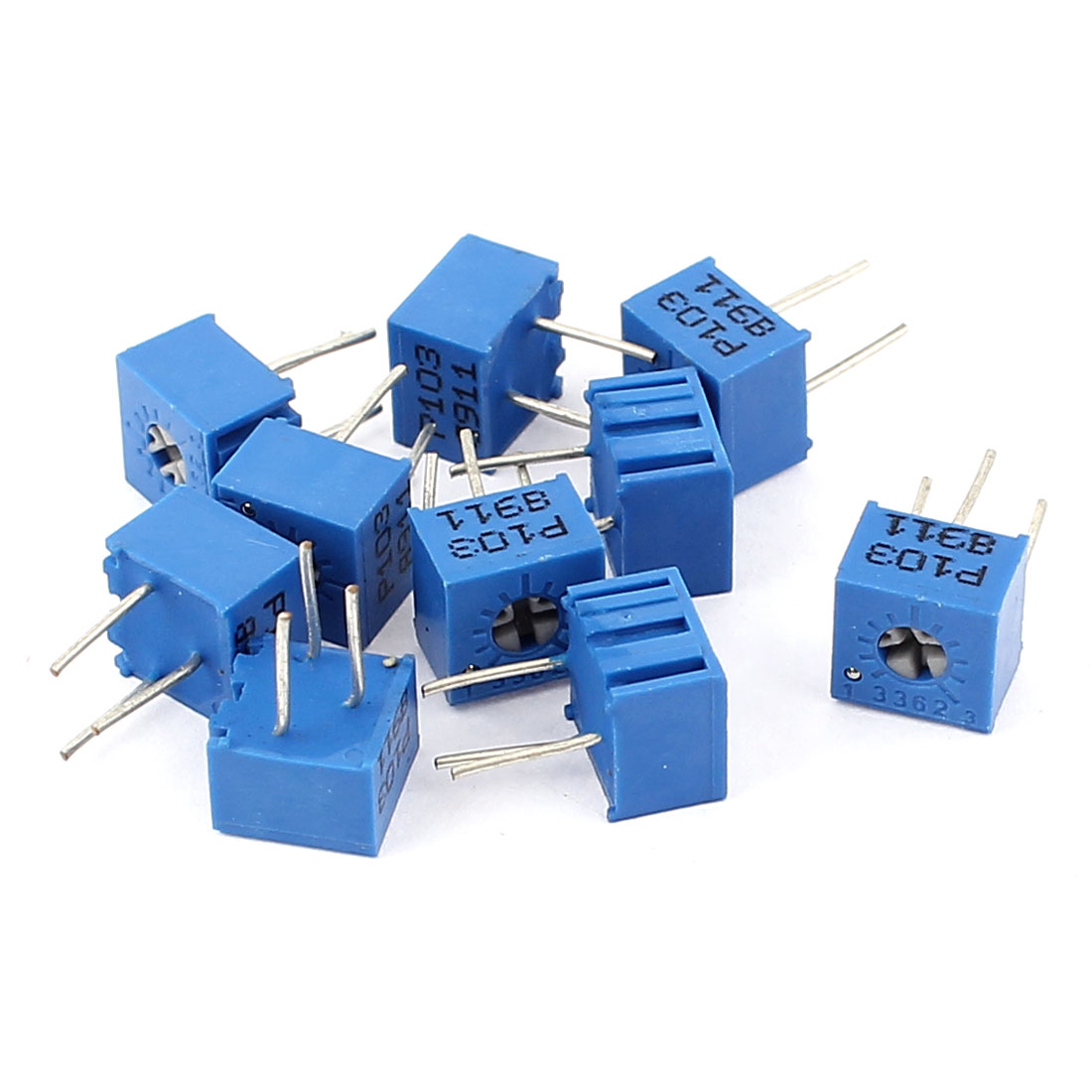 10Pcs Adjustable Potentiometer Trimmer Variable Resistor 3362P-103