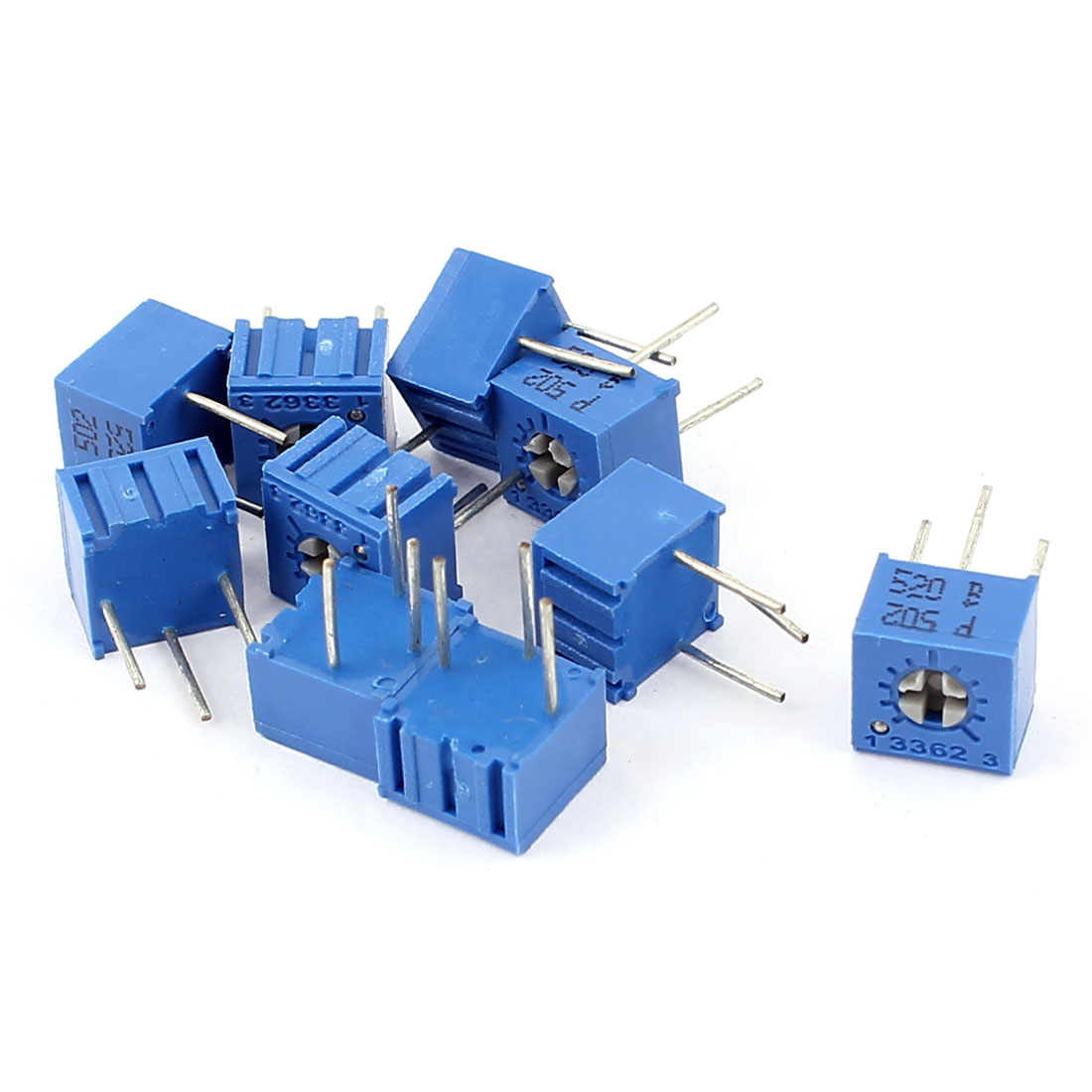 10Pcs Adjustable Potentiometer Trimmer Variable Resistor 3362P-502