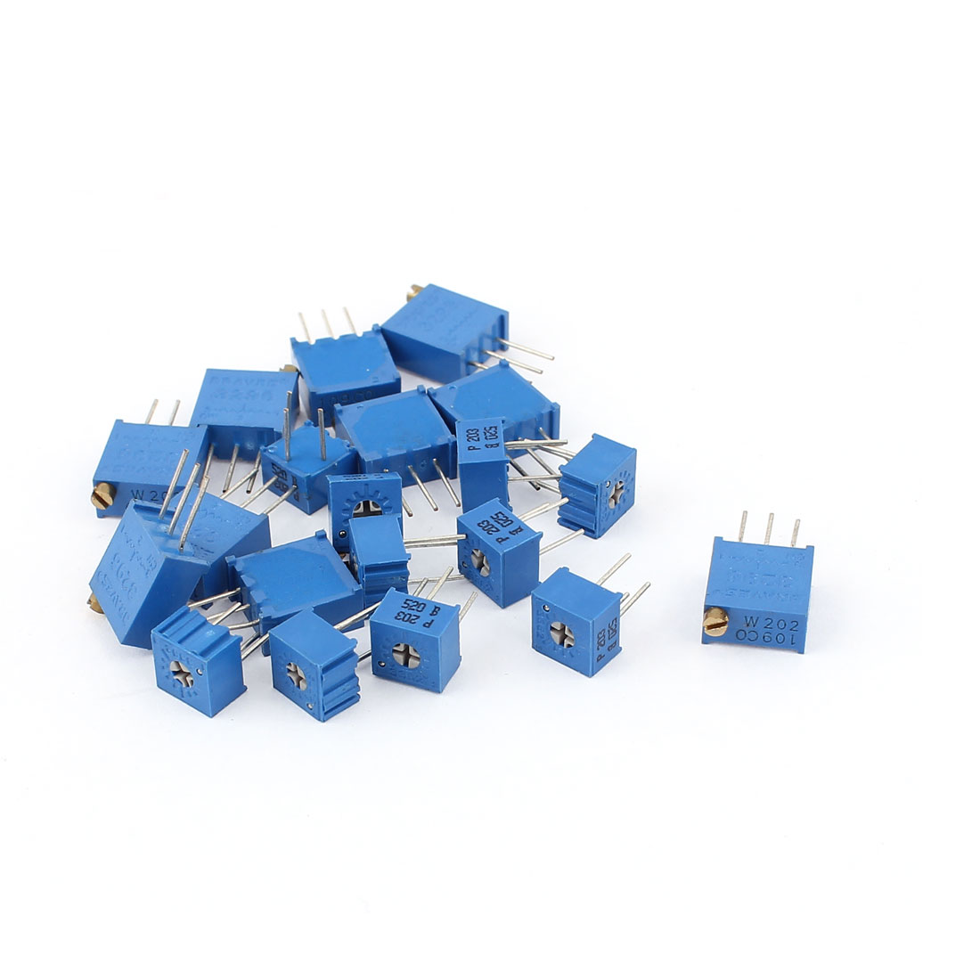 10Pcs Adjustable Potentiometer Trimmer Variable Resistor 3362P-203