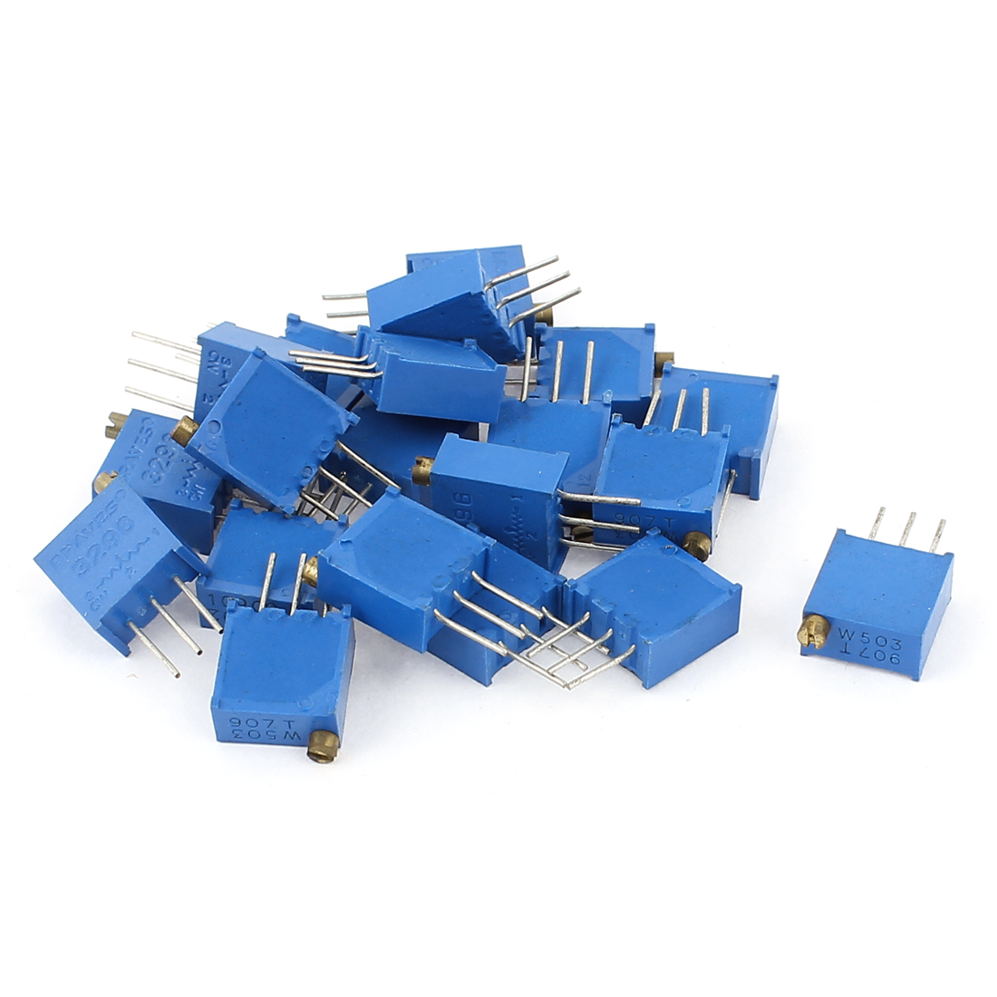 20Pcs 3296W-202 3296W-503 Resistor Trim Pot Potentiometer Trimmer